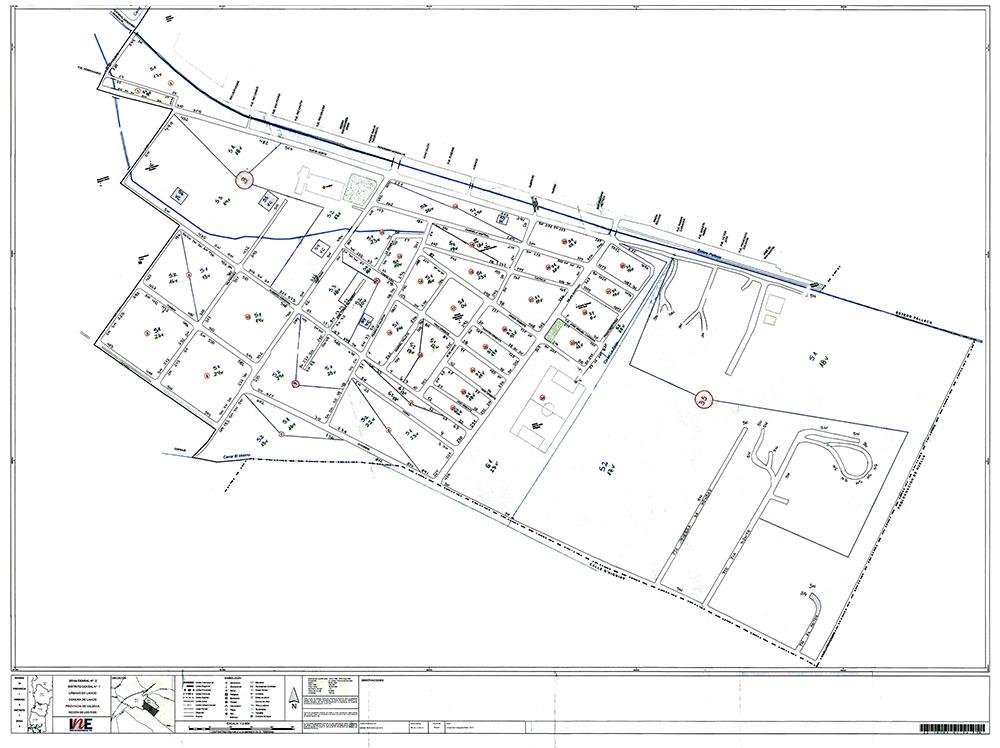 Plano de Zona Censal (en el área Urbana) o de Aldea (en el área Rural)